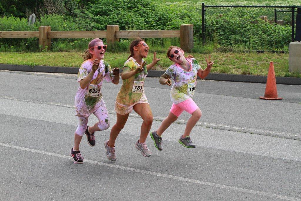 Color Me Rad 5K Race